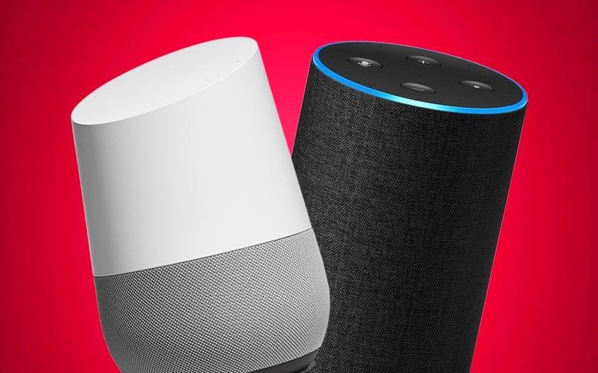 google home amazon echo faille espionner voler mots passe