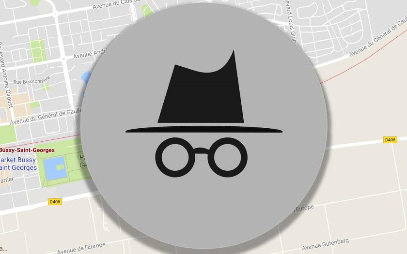 google maps mode incognito apk
