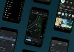 google maps mode sombre android 10