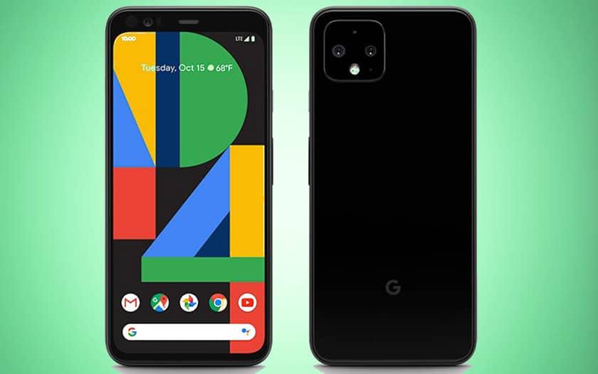 google pixel 4 première photo officielle
