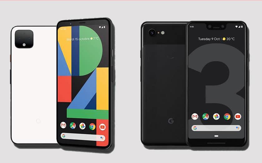 Google Pixel 4 XL v Pixel 3 XL