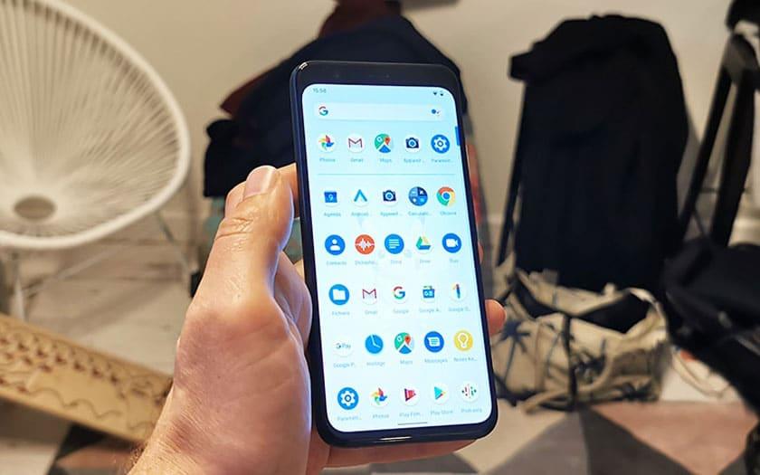 Google Pixel 4 XL écran