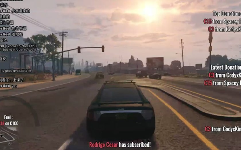 GTA 5 stream live