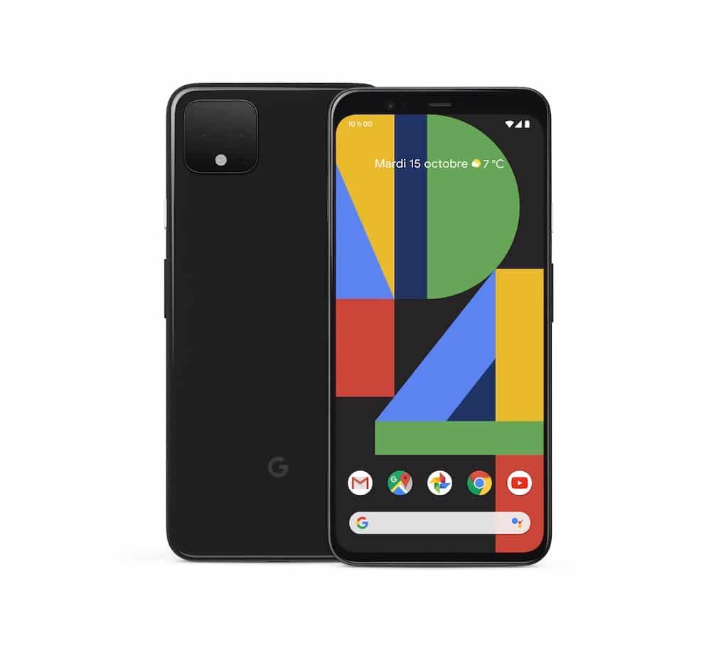Face avant et arrière Google Pixel 4