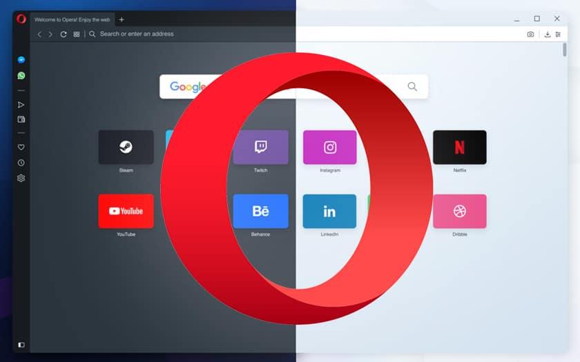Le navigateur internet Opera