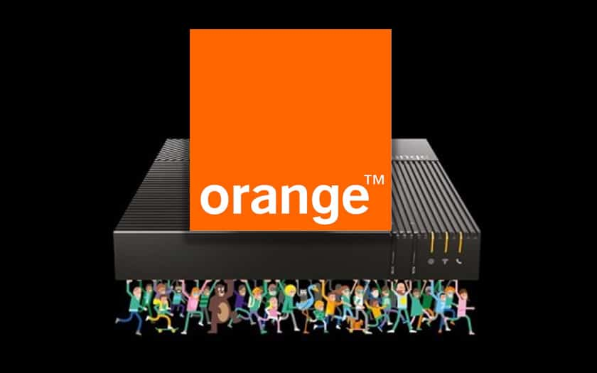 orange livebox 5 débits