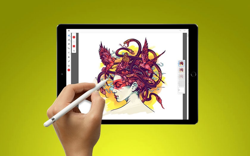 Photoshop et Illustrator sur iPad