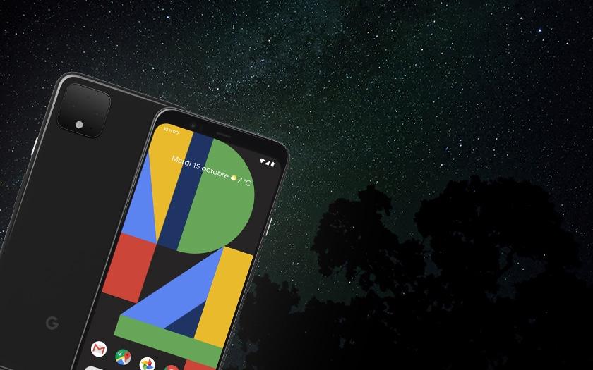 Pixel 4 et le mode Astrophotographie
