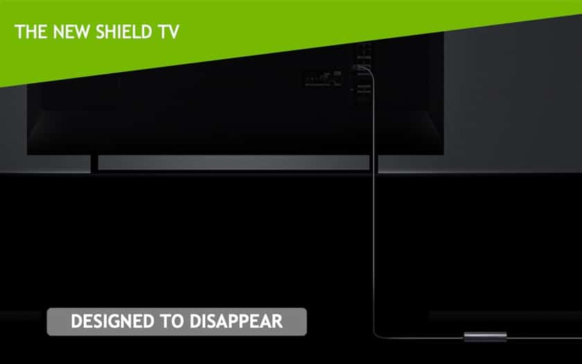 Design Nvidia Shield TV