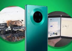 smartphone explose huawei mate 30 installation play store microsoft surface duo