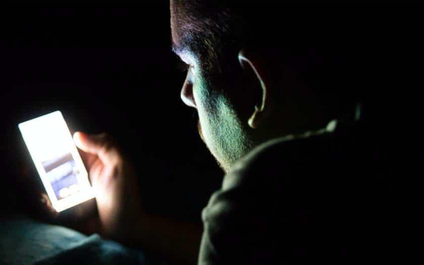 smartphone lumière bleue réduit espérance vie