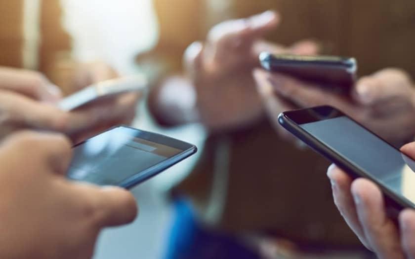Les SMS sont en déclin en France