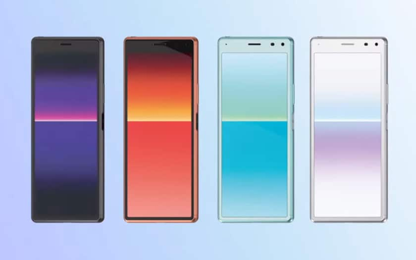 sony xperia 8 officiel
