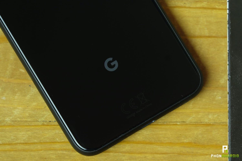 test google pixel 4 design logo