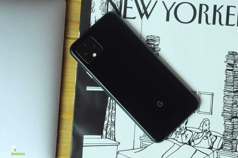 test google pixel 4 design