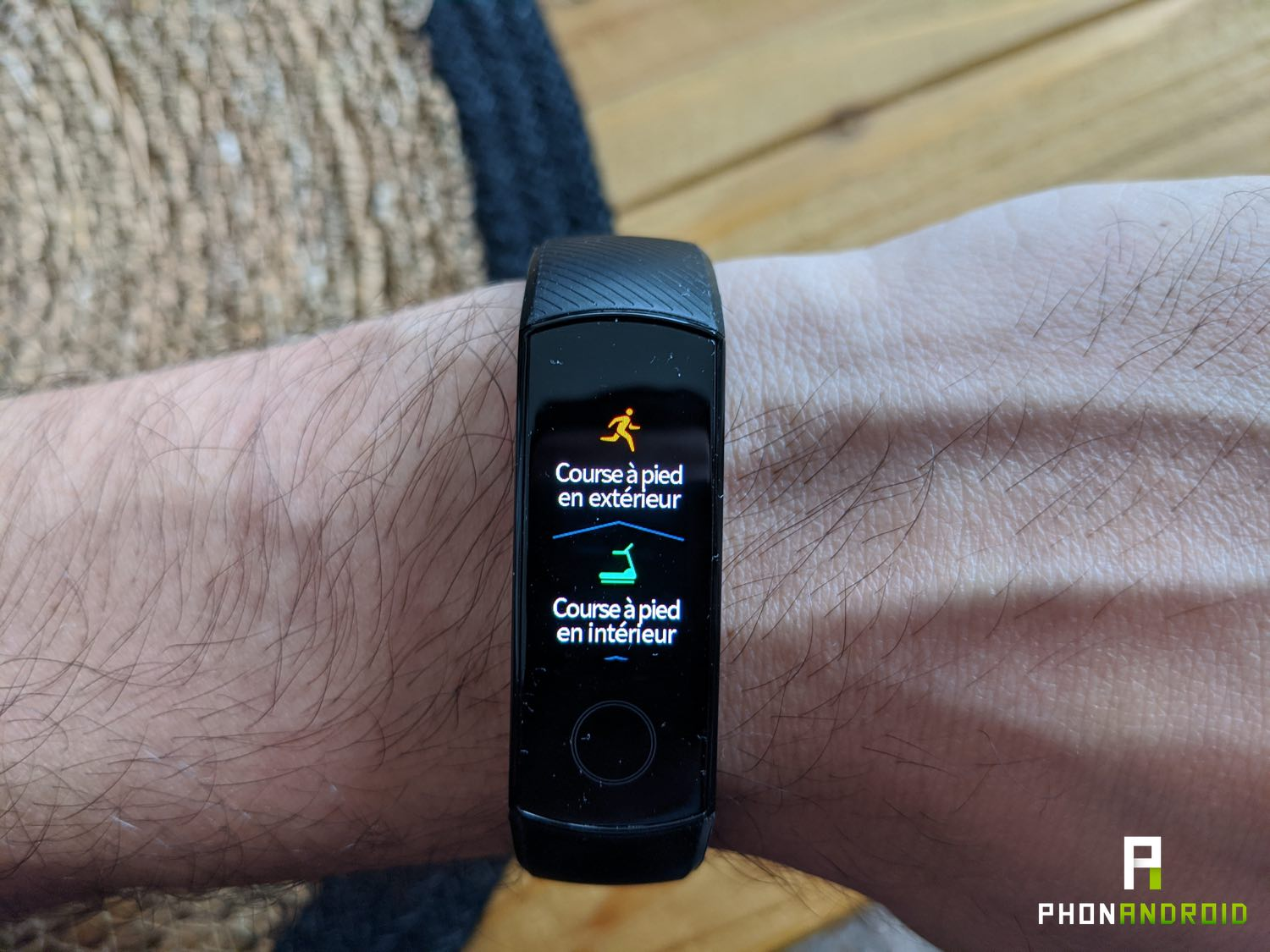 test honor band 5 sport