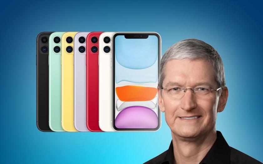 Tim Cook et le prix de l'iPhone 11