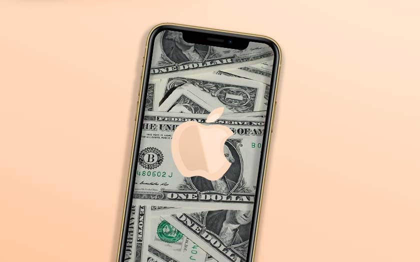 ventes iphone effondrent apple résultats record