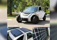 voiture energie solaire