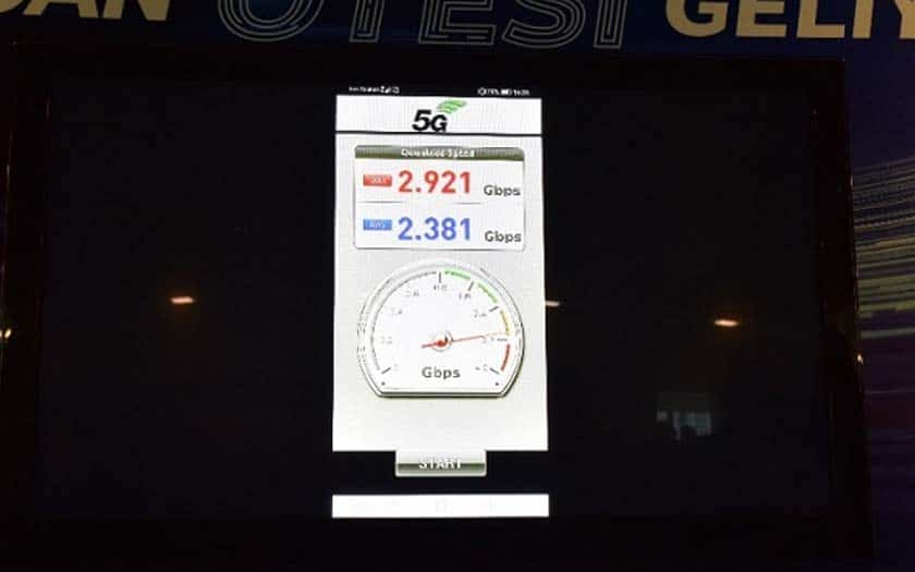 5g huawei record débit mate 20 x