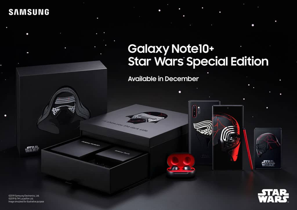 Samsung Galaxy note10+ Edition Speciale Star Wars