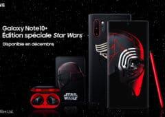 Samsung Galaxy note10+ Edition Speciale Star Wars