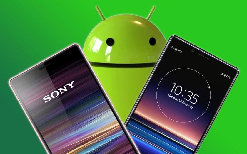 Sony Xperia 1 Xperia 10 Android 10