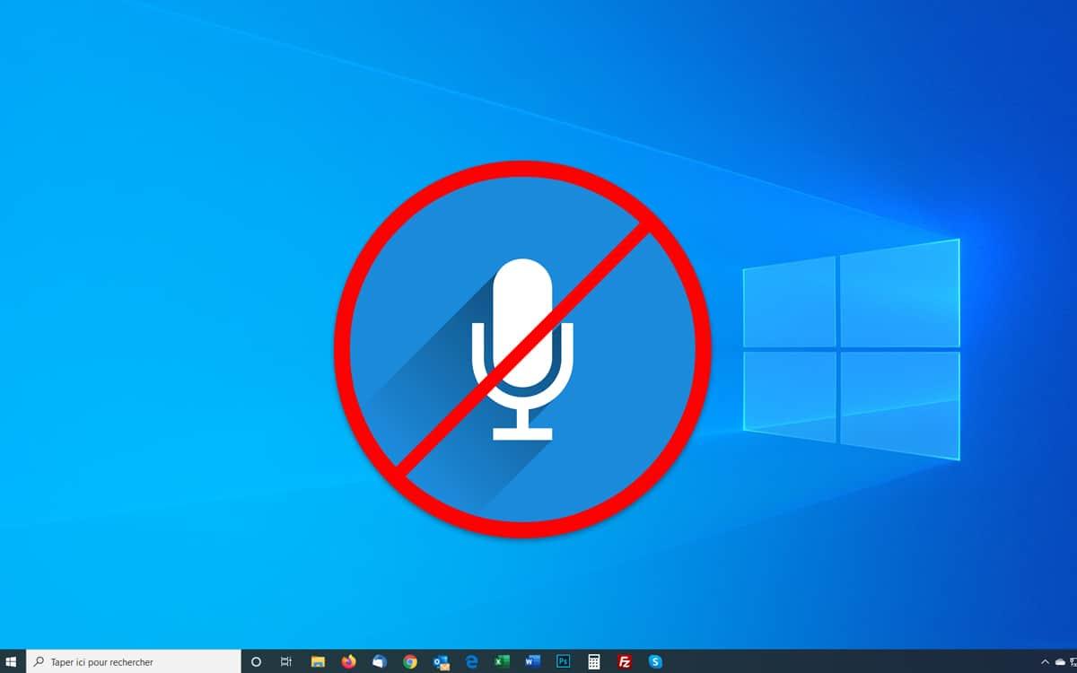 Windows 10 : comment désactiver le micro