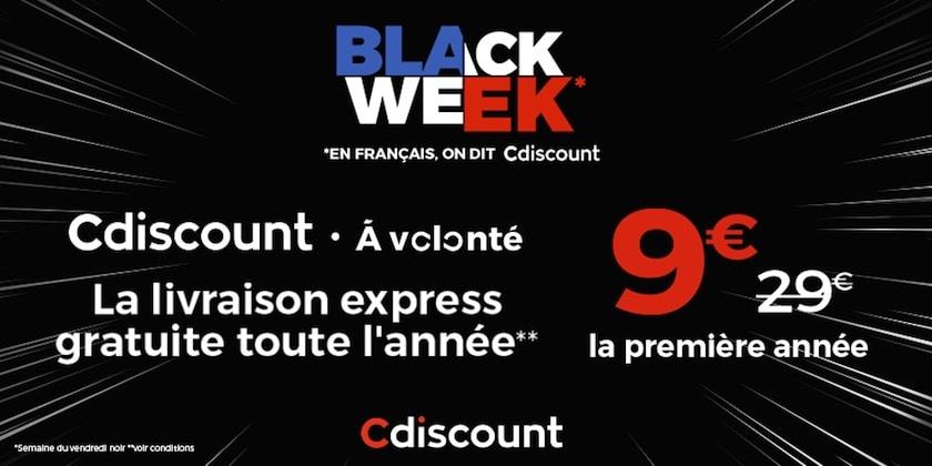 Black Week Cdiscount à volonté