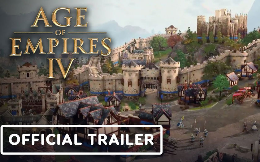 Age of Empire 4 : première bande annonce de gameplay