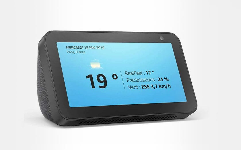 amazon echo show 5 enceinte