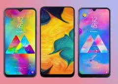 android 10 samsung déployer mise jour milieu gamme janvier 2020