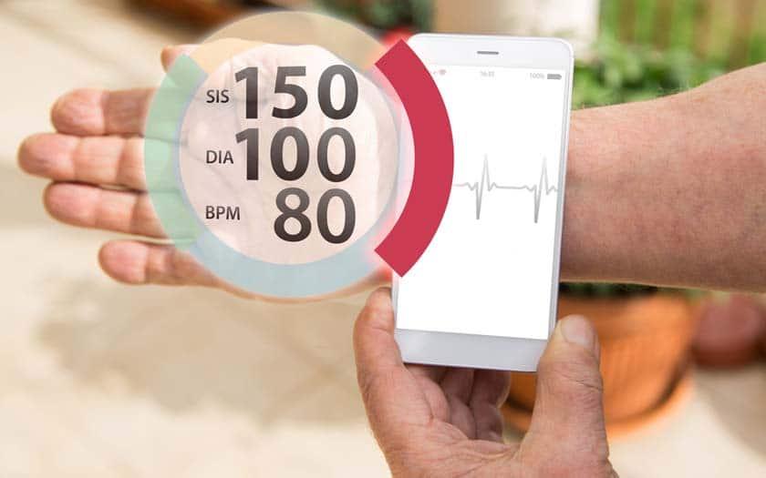 android applications mesurer tension fonctionnent pas