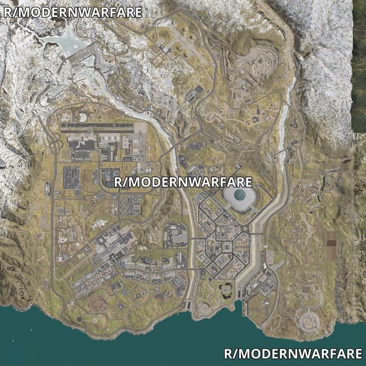 carte vue aérienne battle royale call of duty