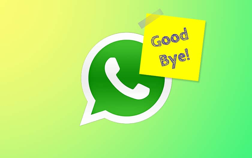 Supprimer compte WhatsApp