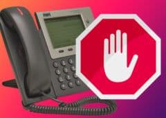 demarchage telephonique stop