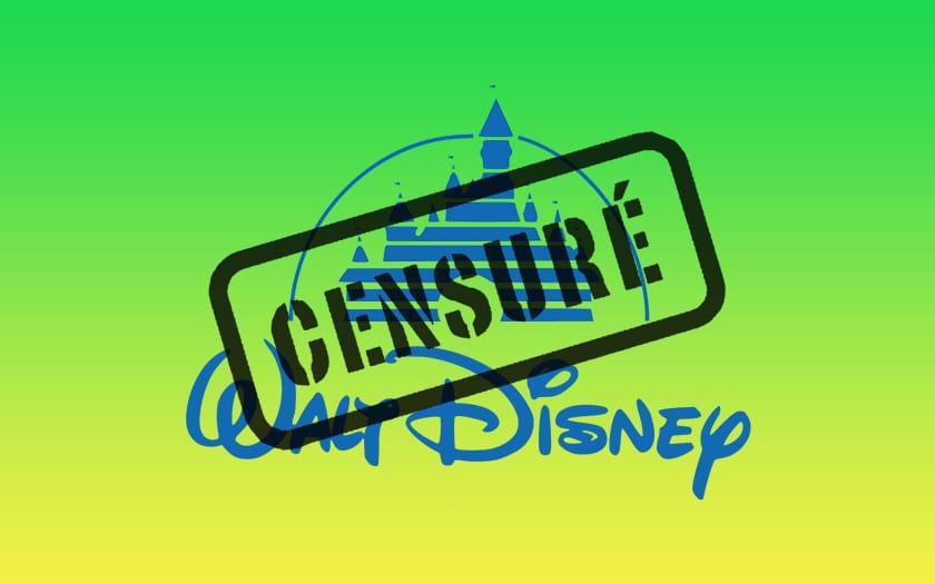 Logo Disney et logo Censuré