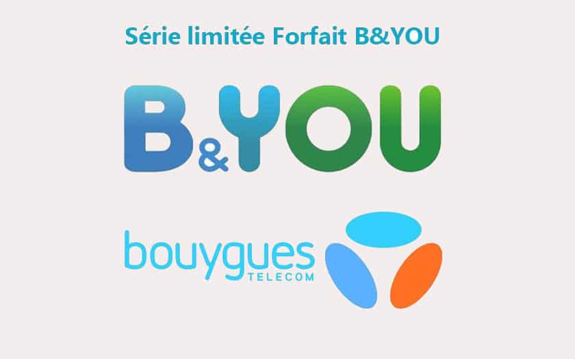 Forfait Bouygues 50 Go 4G