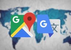 google maps traduction associe