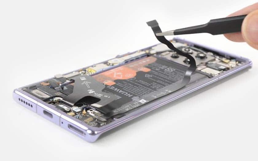 huawei mate 30 pro démontage ifixit