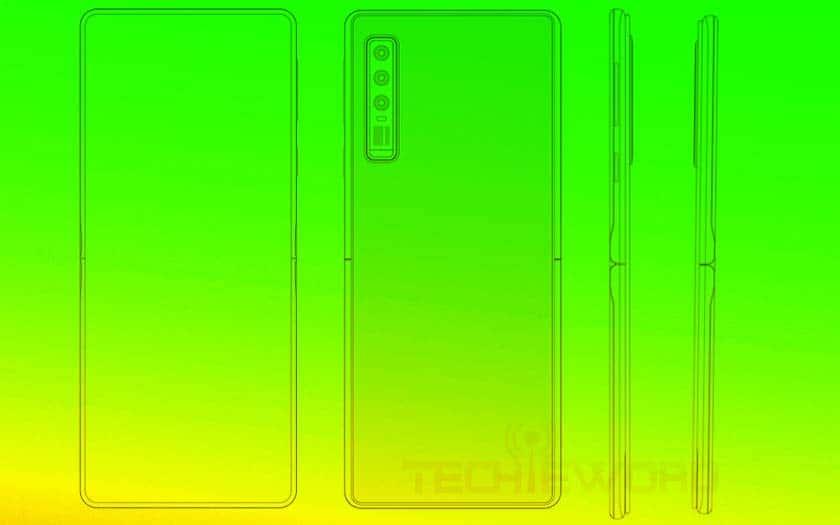 huawei smartphone clapet