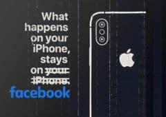 iphone vie privee facebook