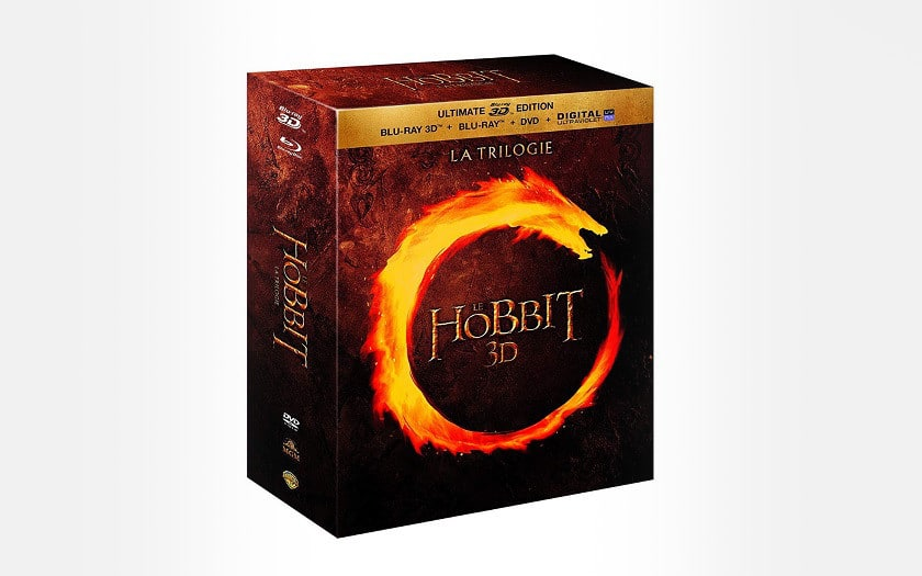 la trilogie le hobbit 3D Amazon