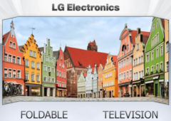 lg tv pliable