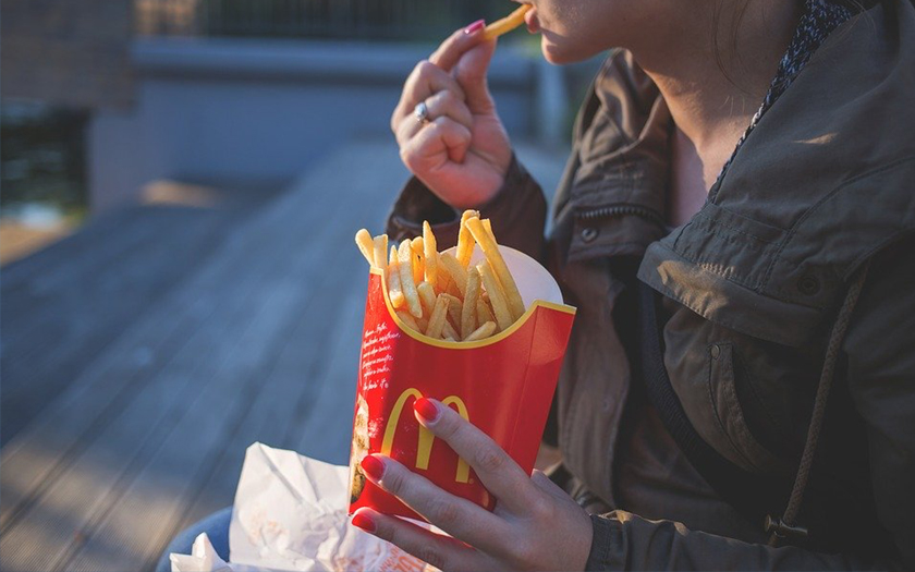 Des frites McDonalds