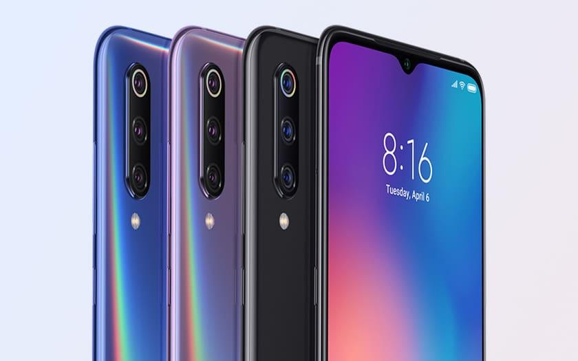Cyber Monday 2019 sur le smartphone Xiaomi Mi 9