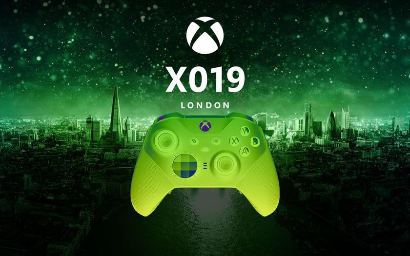 manette xbox et logo X019