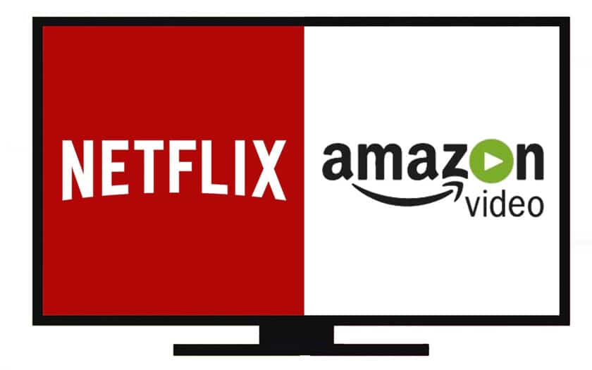 Netflix et Amazon Prime Video