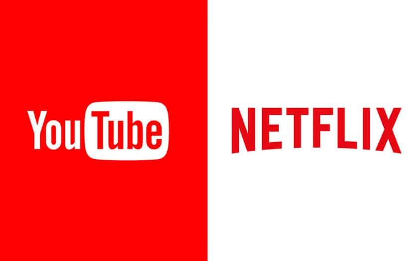 Netflix et YouTube