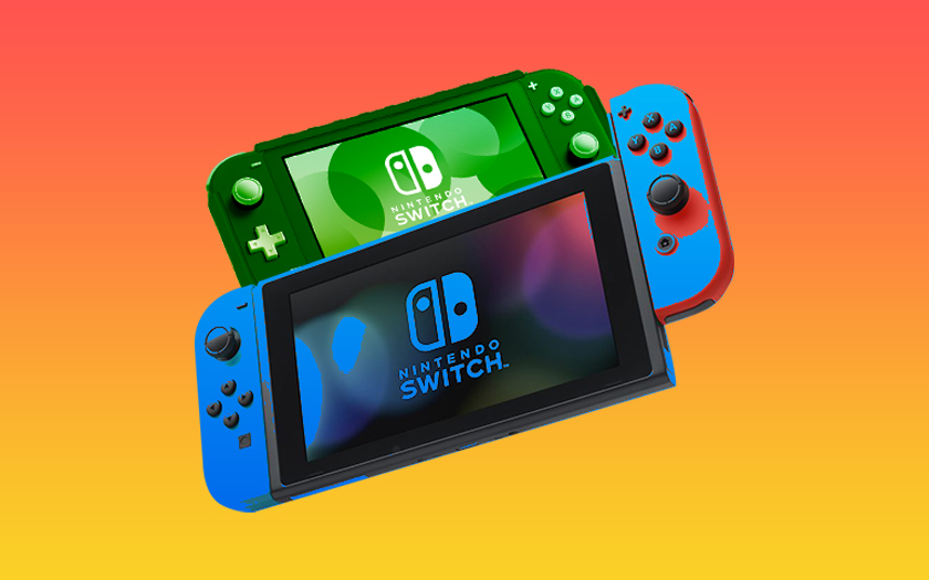 nintendo switch et nintendo switch lite
